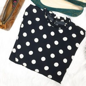 ZARA Woman  Polka Dot Blouse